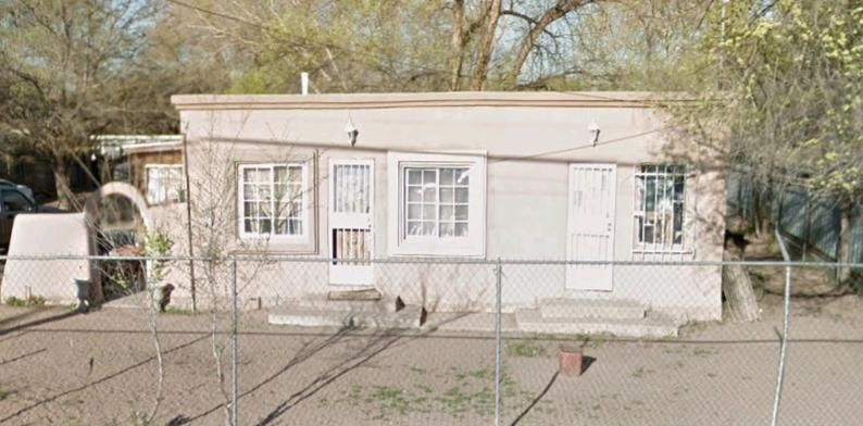 ''UNIQUE OPPORTUNITY! Two properties located on one parcel - long term tenants in one building, and newly remodeled second building! Large lot close to the Rio Grande - you don't want to miss it!''