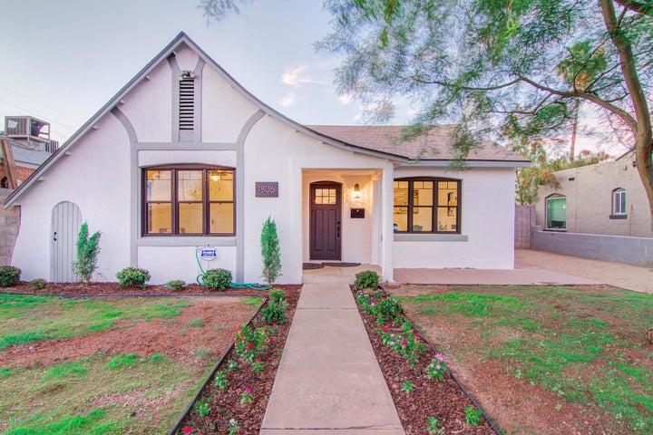 1806 E CULVER Street, REAR, Phoenix, AZ 85006
