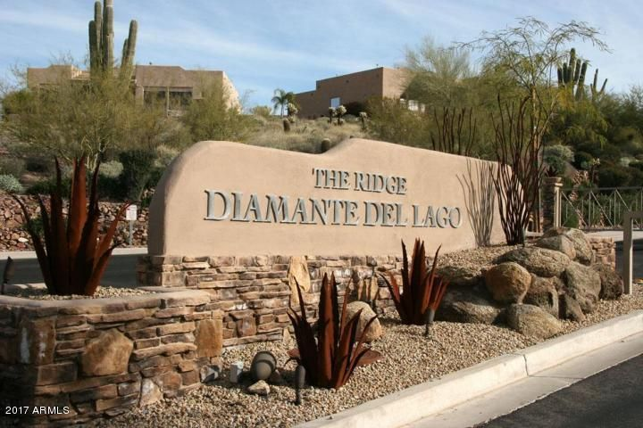 Gated Entrance on Diamante Drive, right behind the famous fountain!