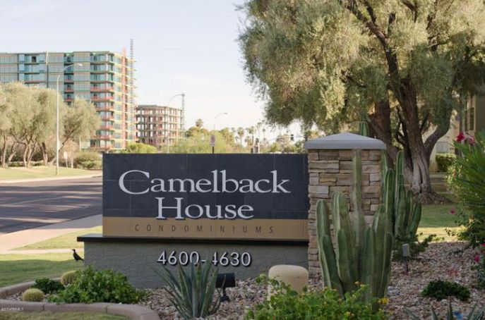 Camelback House Front Sign