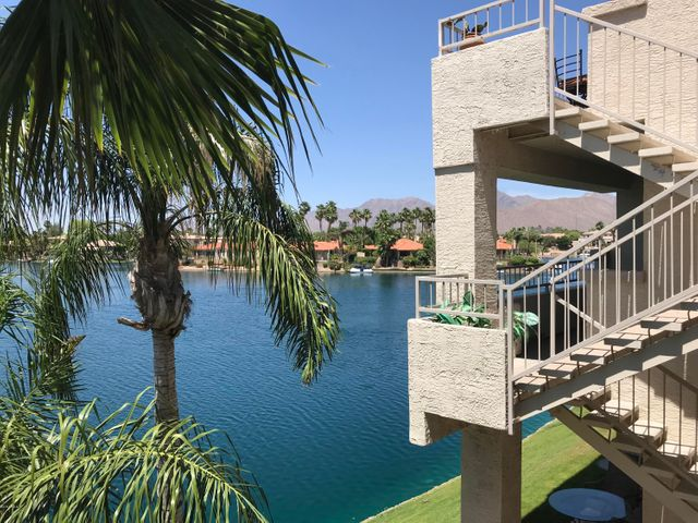 Enjoy your lake and mountain views from your private balcony. Not all units have this privacy.