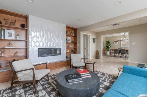 Mid Century formal living room