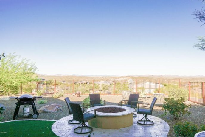 Views are amazing from your fully fenced backyard