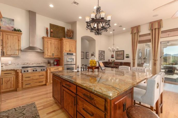 Gorgeous Kitchen with Huge Island