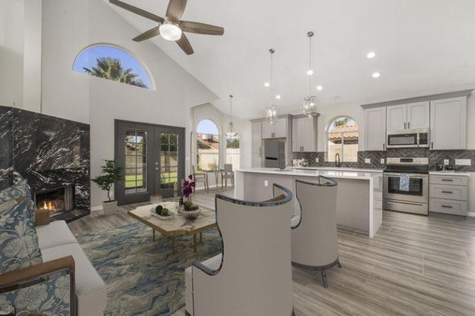 Welcome Home! This Luxury Designer home has all of the Newest Designer Upgrades with NO HOA!