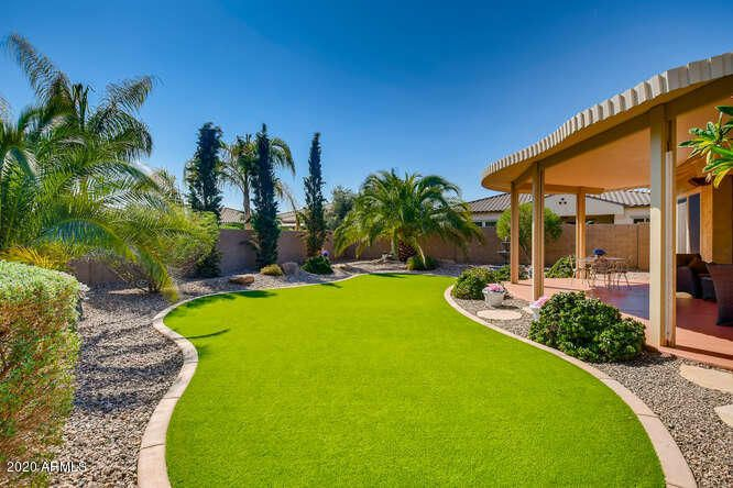 Easy maintenance Turf and Mature Landscaping