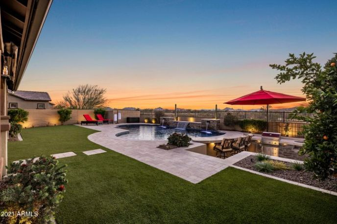 Wow! Looking for a backyard oasis with a stunning view? This home will take your breath away.