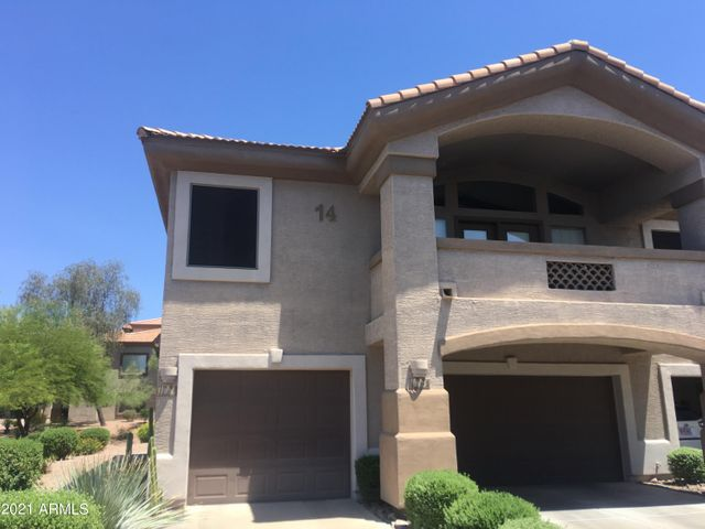 Front of Unit with private garage entrance and end unit