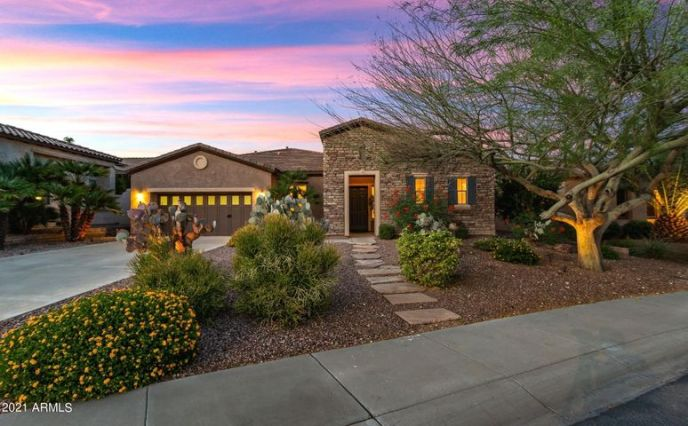 WITH BEAUTIFUL CURB APPEAL , GRAND, EXTRA-LONG DRIVEWAY & MATURE LANDSCAPING