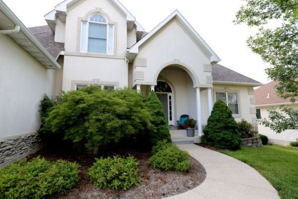 Beautiful one and a half story home in Spring Creek.