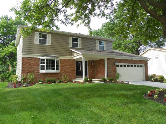 Worthington Hills two story home with updated exterior