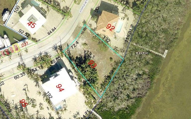 Lot 93 Stirrup Key Boulevard, Marathon, FL 33050