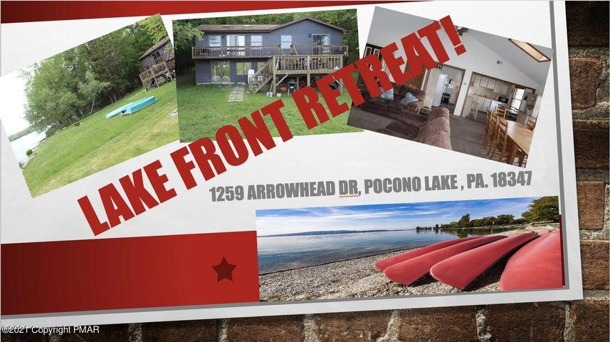 1259 Arrowhead Dr, Pocono Lake, PA 18347