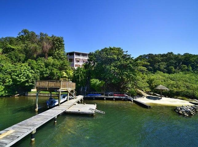 Caribe Point, Waterfront Home, Roatan,