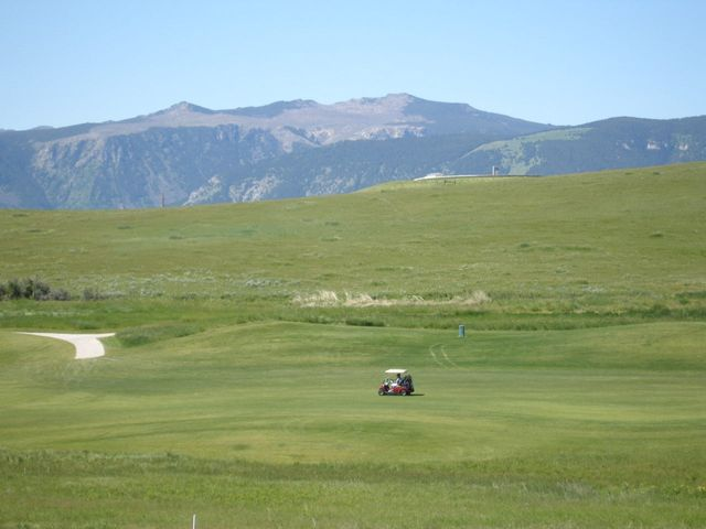 Views - golf and mtn