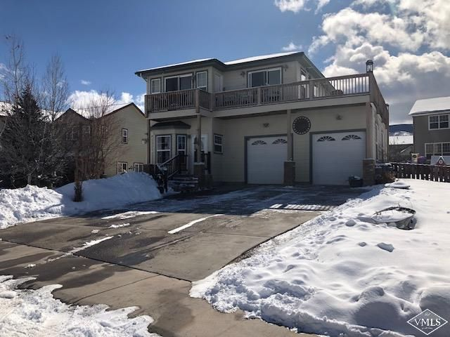 Very nice property close to airport, skiing, fishing and all Colorado has to offer. Kitchen has granite counters tops, Master includes 5 piece master bath, walk in closet and private deck second story deck. Finished basement with 4th bedroom or office. Attached 2 car garage with workshop.