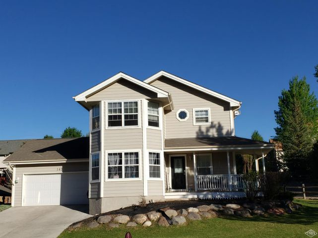 Near the Eagle River in the desirable neighborhood of Willowstone! This 3 bedroom home offers a spacious floor plan with an office, laundry on the bedroom level, upgraded kitchen with granite countertops and stainless steel appliances. The large back yard is partially fenced with a patio.