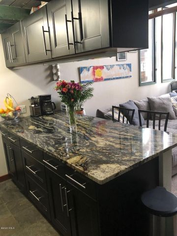 Updated condo in Sandstone neighborhood, convenient to everything in Vail. This two-story condo offers a great opportunity to enjoy mountain living. On the Sandstone bus route.