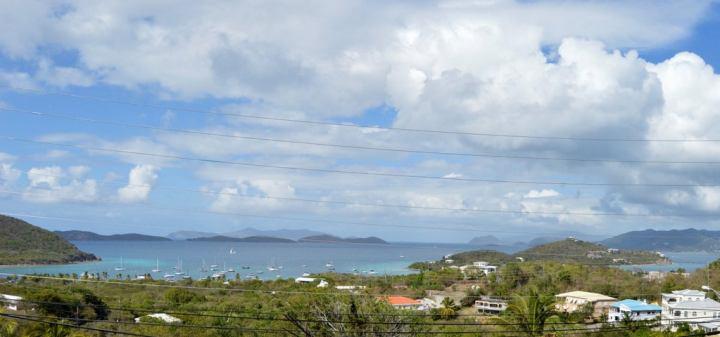 View of St John & BVI