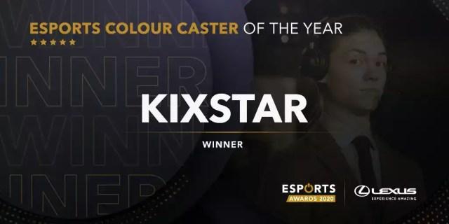 KiXSTAr Esports Awards 2020