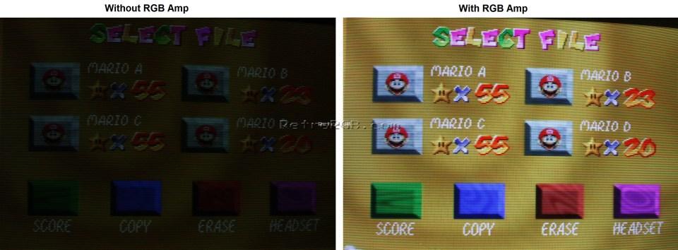Credit: RetroRGB.com N64 DIY RGB