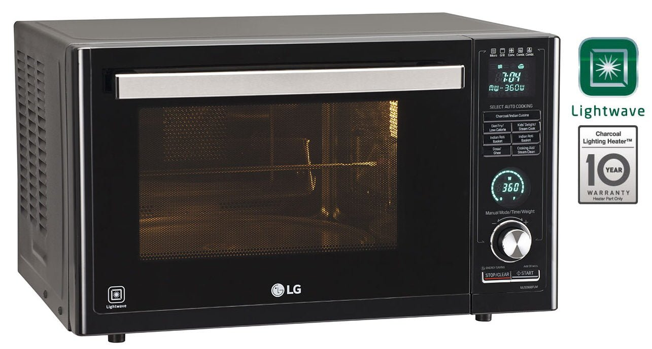 new lg microwave oven which can make