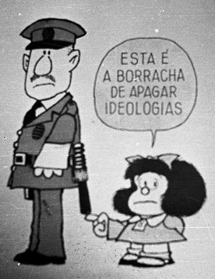 mafalda 2 - Confira tirinhas históricas da Mafalda que explicam porque Quino foi um artista gigante