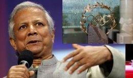 Dr Yunus awarded prestigious Olympic Laurel