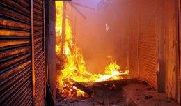 40 shops gutted in Chapainawabganj fire