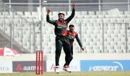 Shakib's 5-wicket haul scripts easy win for Tigers