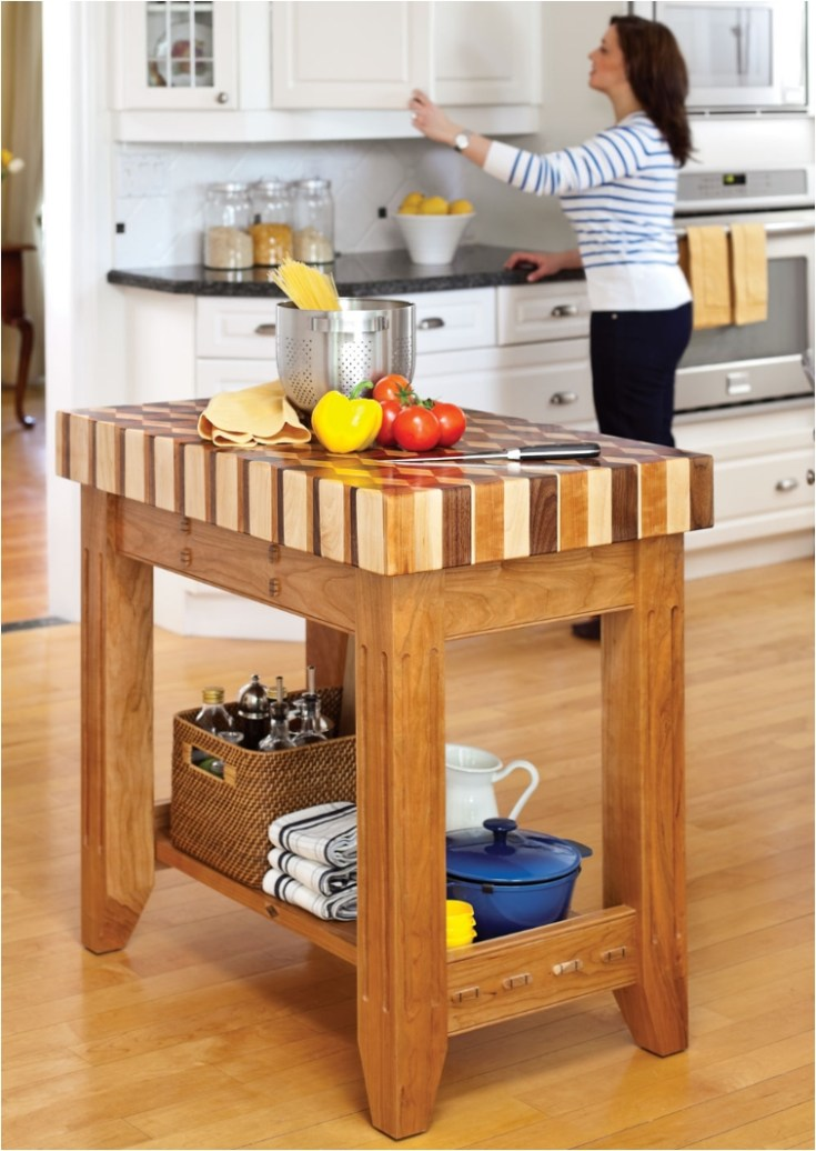 20 diy islands to complete your kitchen - ritely