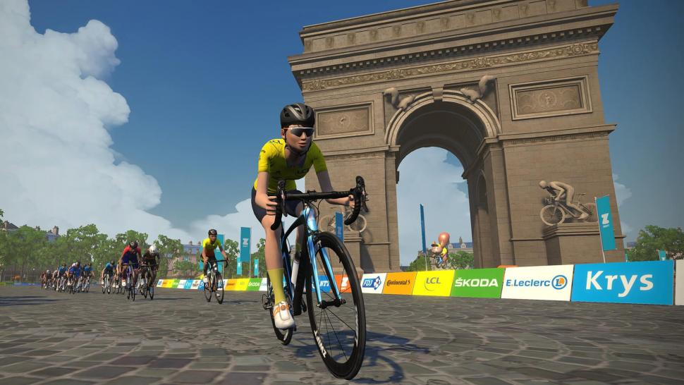 Watch Live Virtual Tour de France Stage 6 on Zwift