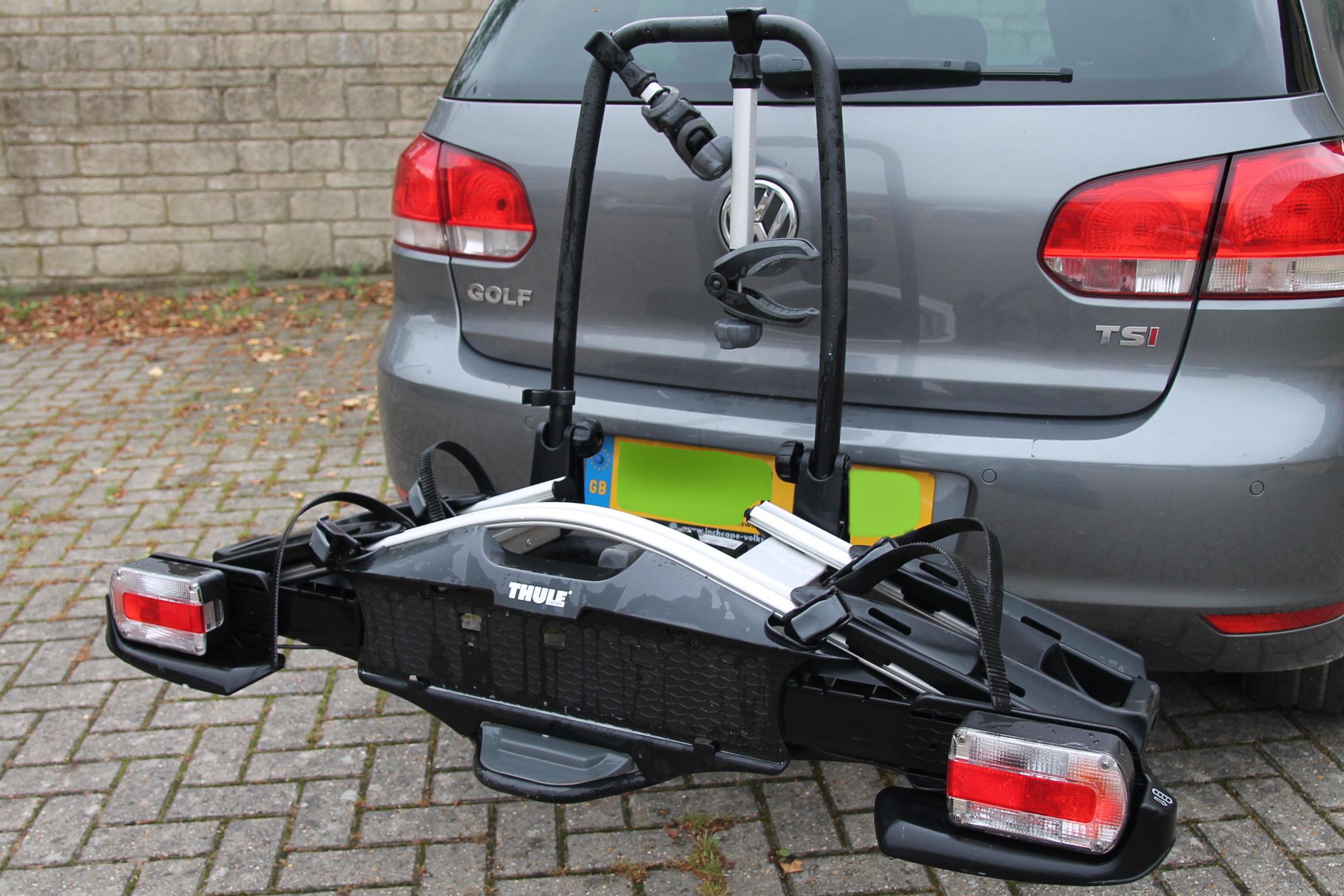 thule velocompact 92501 2 bike car rack