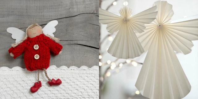 Angioletti Di Natale Fai Da Te 4 Idee Originali Roba Da Donne