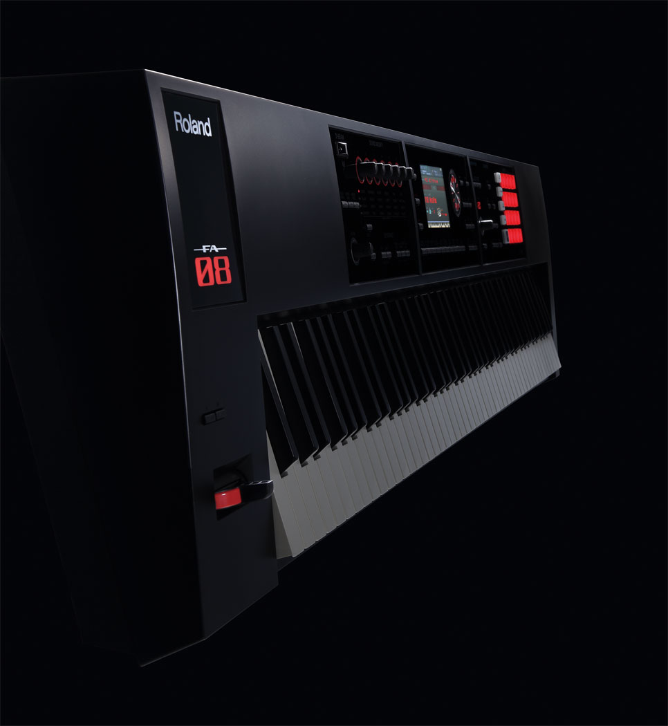 Roland FA 08 side view
