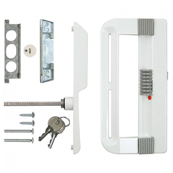 ideal security patio door handle with keyed lock
