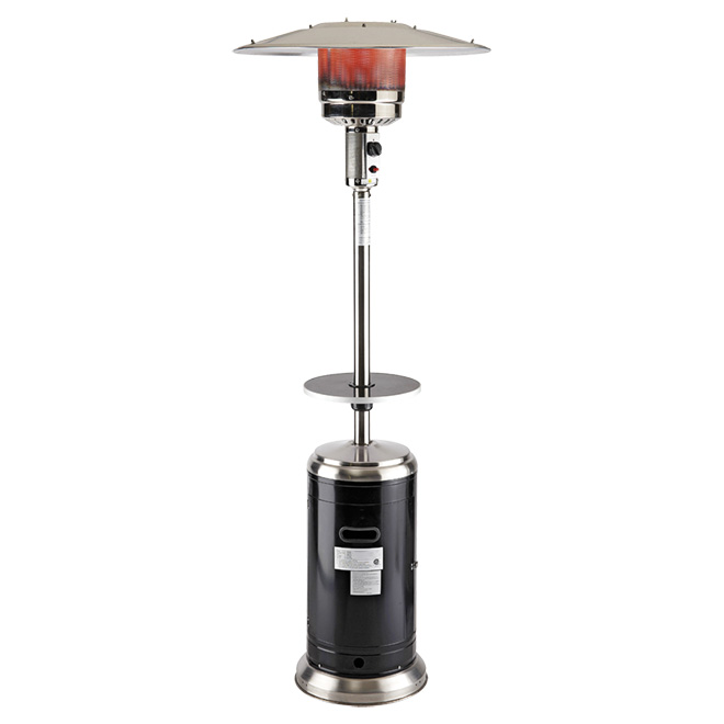 styles selections propane gas patio heater 48 000 btu 87 in