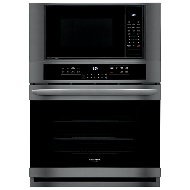 combination wall oven with fits more microwave 30 black ss