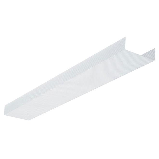 fluorescent light fixture replacement lens 48
