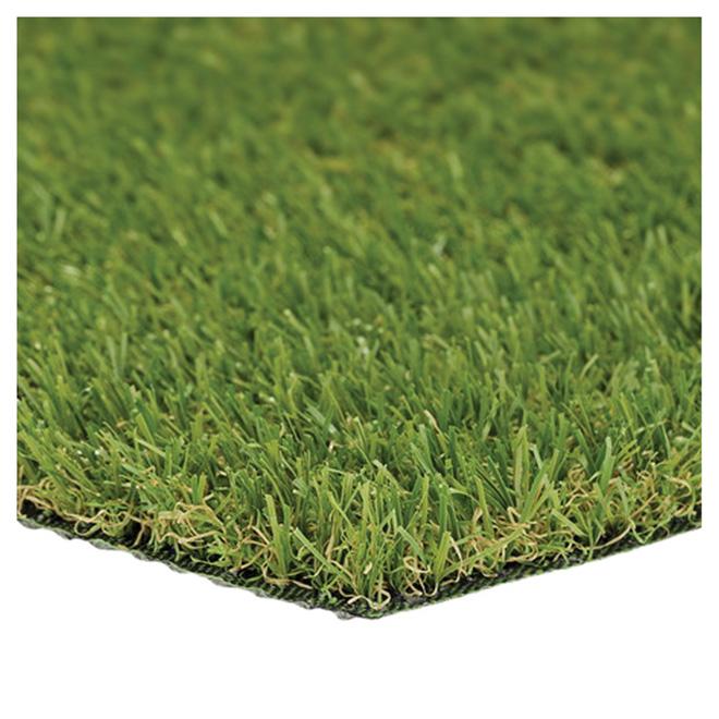 tapis de gazon synthetique ccgrass 3 3 pi x 3 3 pi vert