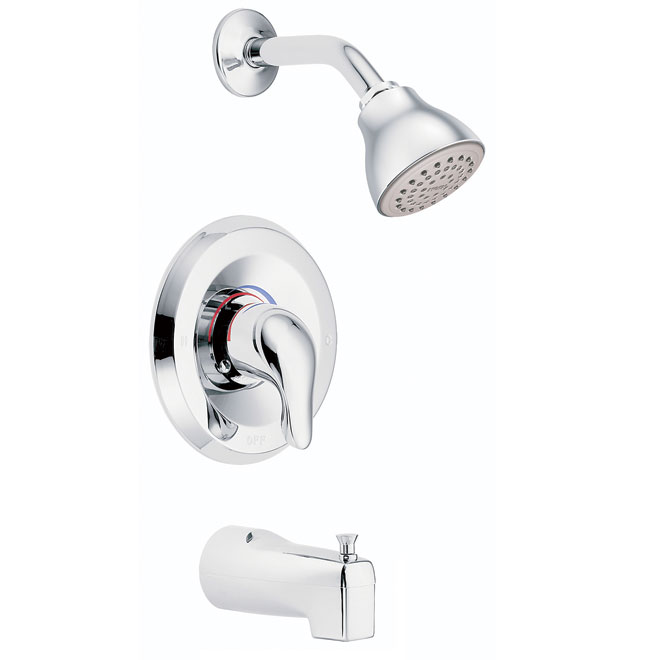 chateau 1 handle tub and shower faucet