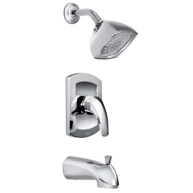 zarina 1 handle tub and shower faucet
