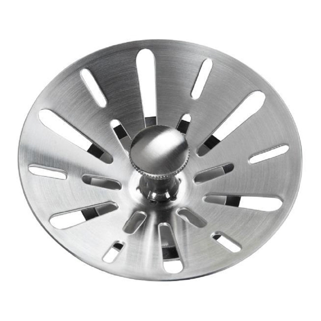 tapered sink strainer stainles steel