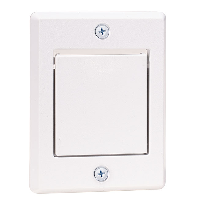 exterior exhaust vent for central vacuum cleaner white