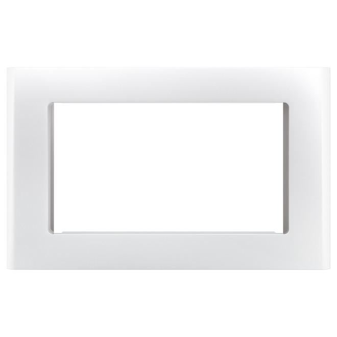 ge cafe steel microwave trim kit matte white