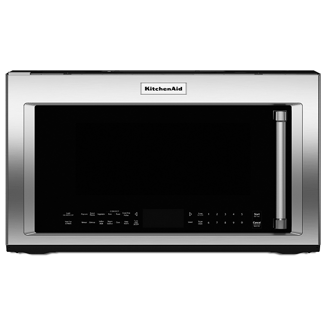 over the range microwave 1 9 cu ft stainless steel