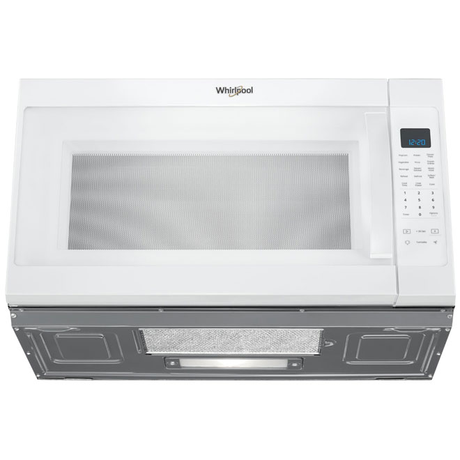 over the range microwave 2 1 cu ft white