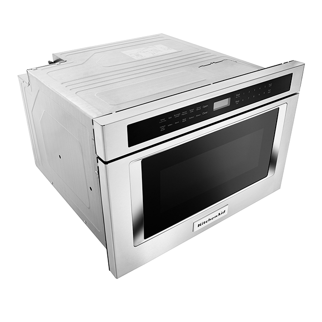 microwave oven drawer under counter 24 stainless steel