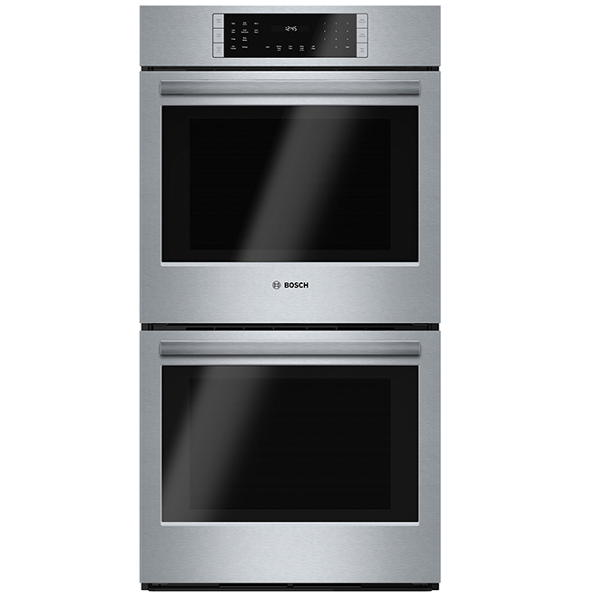bosch double wall oven 800 series 27 7 8 cu ft ss