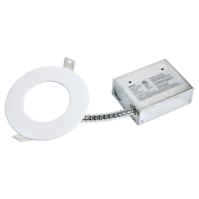 dimmable recessed light slim 11w led matte white